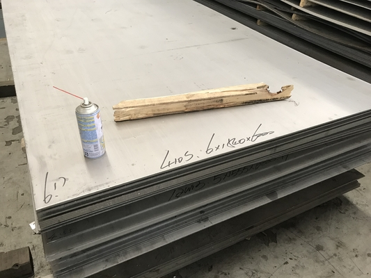AISI 410S / No.1 Hot Rolled Stainless Steel Plates And Coils UNS S41008